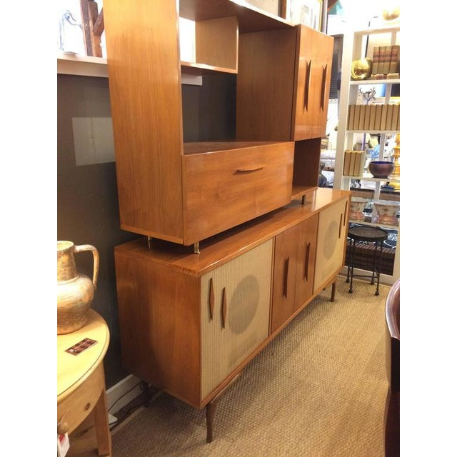 Mid-Century Modern Stereo Cabinet & Dry Bar - Image 9 of 9