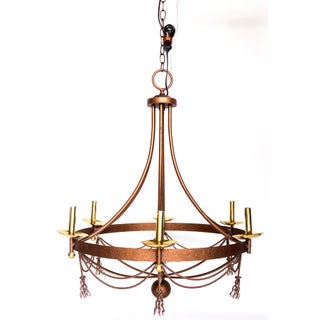 Mid-Century Iron Chandelier Preview