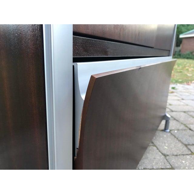 Herman Miller Rosewood & Metal Cabinet For Sale - Image 11 of 13