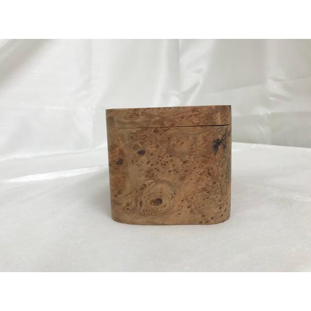 2000s Burl Wood Puzzle Box - 5 Pieces For Sale - Image 5 of 9