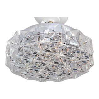 Kinkeldey Crystal Flush Mount For Sale