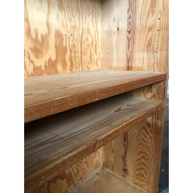 French Pine Bookshelf With Adjustable Shelves For Sale In Seattle - Image 6 of 9