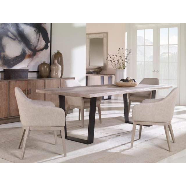 Contemporary Century Furniture Copeland Dining Table For Sale - Image 3 of 5