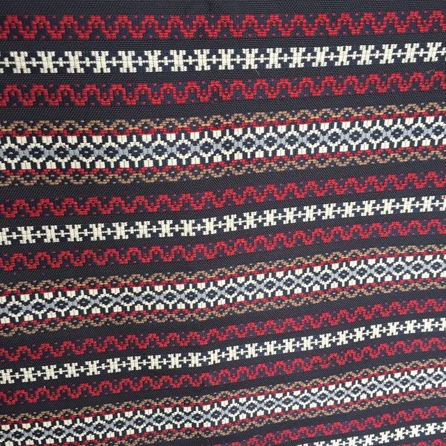 Woven Railroaded Stripe Fabric - 2.75 Yards - Image 4 of 6