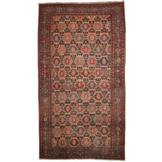 RugsinDallas Antique Persian Hamadan Hand Knotted Wool Rug- 10′10″ × 19′4″ For Sale