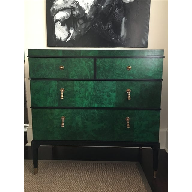 Century Furniture Malachite Consul Chest - Image 2 of 8