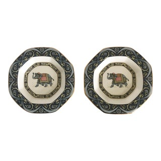 Wedgwood Octagonal Decorative Plates - a Pair For Sale