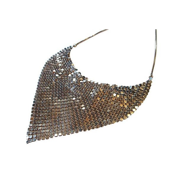 Chainmail Bib Necklace For Sale