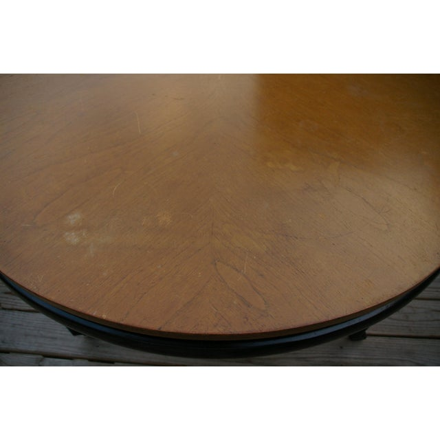 Baker Furniture New World Group Floating Top Table - Image 5 of 6