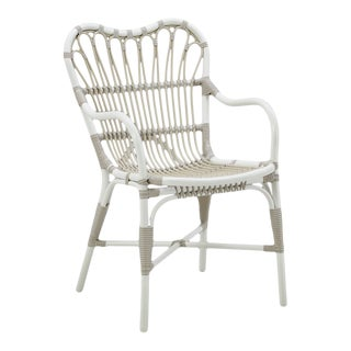 Margret Exterior Dining chair - Dove White For Sale