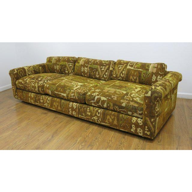 A captivating piece from Milo Baughman for Thayer Coggin. This sofa would be great in a classic or contemporary dining...