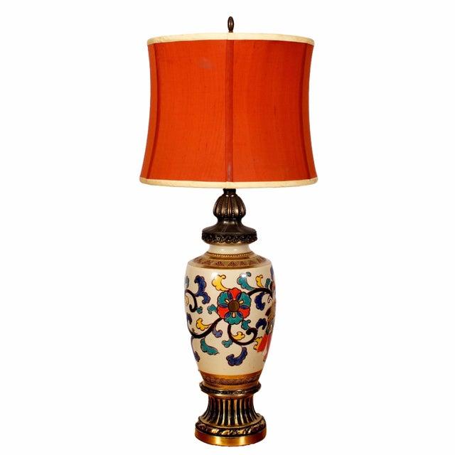 Bohemian Asian Lamp - Image 1 of 4