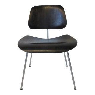 Early Eames Aniline Dyed Dcm Chair For Sale