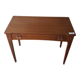1960s Mid-Century Modern Remploy Teak Desk Console Table For Sale