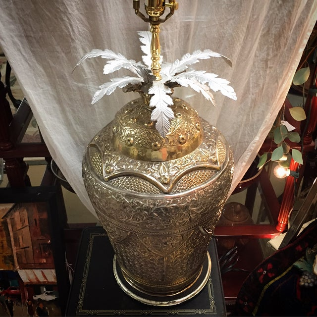 Repousse Lamp - Image 3 of 4