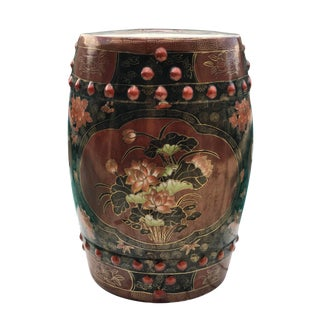 Chinese Porcelain Chinoiserie Garden Stool For Sale
