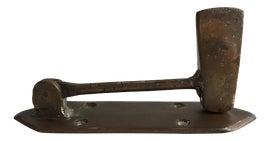 Image of Antique Brass Finish Door Hardware