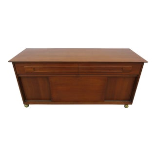 Mid-Century Modern Low Credenza For Sale
