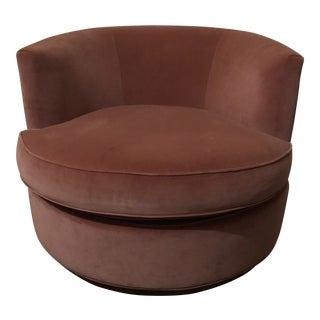 Kravet Swivel Chair For Sale
