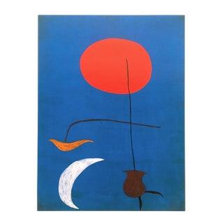 "Joan Miro Rare Vintage 1998 Spanish Surrealist Lithograph Print "" Entwurf Fur Eine Tapisserie "" 1926 For Sale"