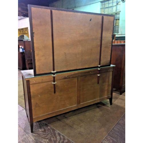 Brown Phenix Furniture Co. Mid-Century Modern Dresser with Mirror For Sale - Image 8 of 8