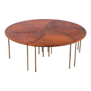 "Set of 6 Peter Hvidt ""Pinwheel"" Tables"