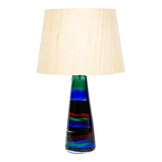 Attribute Fulvio Bianconi Glass Lamp For Sale