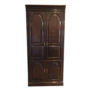 Ethan Allen Georgian Court Solid Cherry Armoire For Sale