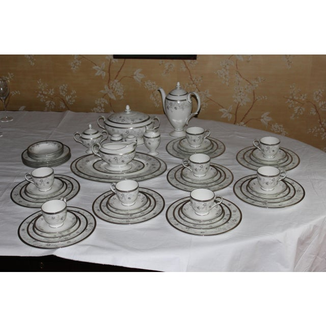 New, never used. Does not come with original packaging. Noritake Delacorte Bone China dinner set with service for 8 plus...