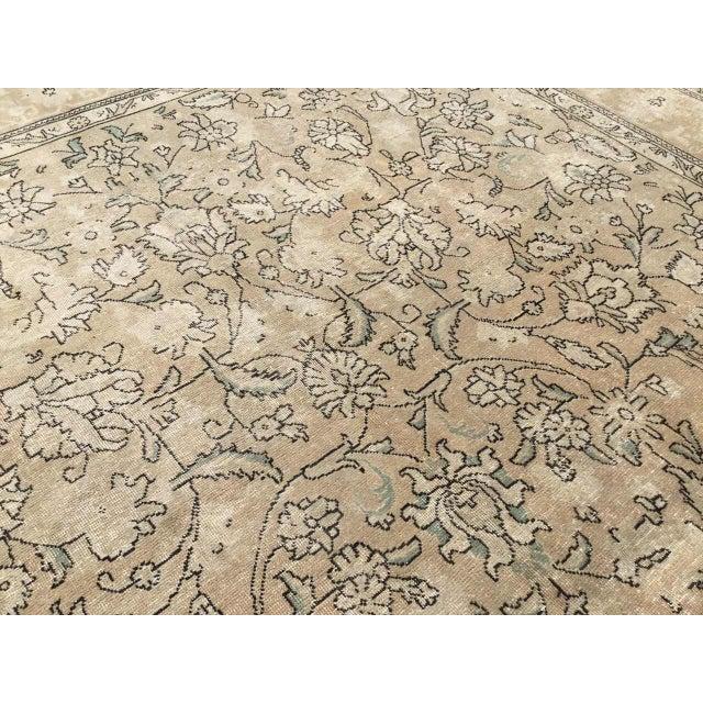 Islamic Oversized Antique Oushak Area Rug For Sale - Image 3 of 11