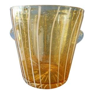 1940s Vintage Murano Ice Bucket For Sale