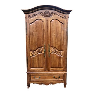 Ethan Allen Legacy Country French Armoire For Sale