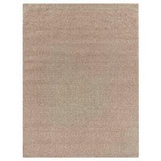 Sanz Flatweave Wool Beige Rug - 12'x15' For Sale
