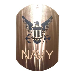 United States Navy (Usn) Dog Tag