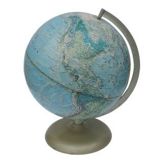 Vintage Rand McNally World Portrait Globe For Sale