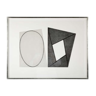 "Robert Mangold ""Frame and Elipses"" For Sale"