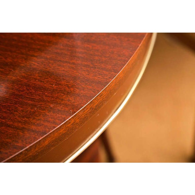 Faux Rosewood Table - Image 4 of 7
