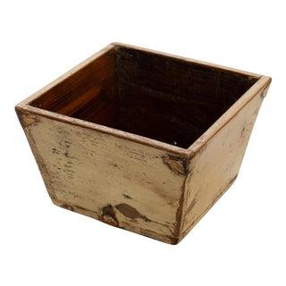 1950s Asian Primitive Grain Box For Sale