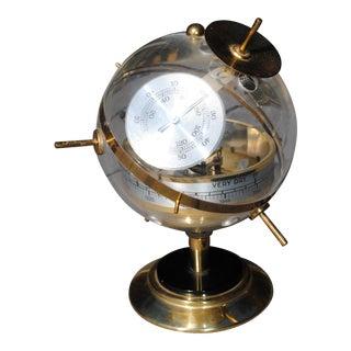 Vintage Mid-Century Sputnik Western German Weather Station Barometer For Sale