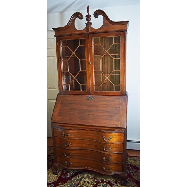 Antique Maddox Mahogany Secretary Desk - Image 2 of 11