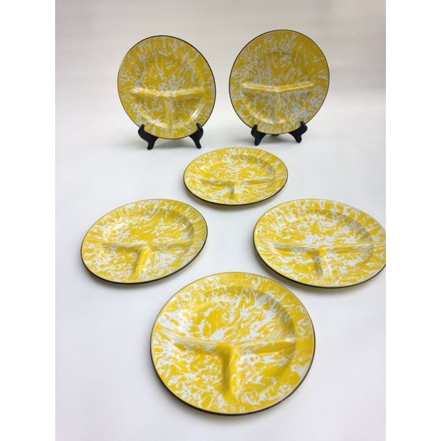 Enameled Dinner Plates - Set of 6 - Image 3 of 11