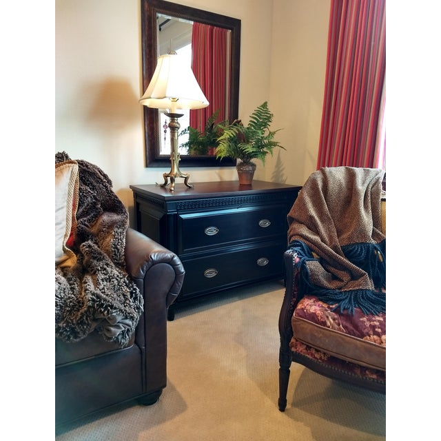 Elegant Two-Drawer Lateral File Cabinet Credenza - (Aspenhome: Young Classics Office Collection) For Sale - Image 12 of 13