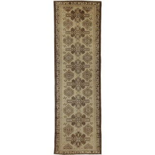 """1920s Vintage Persian Runner-3'8"""" X 12'2"""" For Sale"""