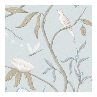 Sample - Adam's Eden Snowbird Wallpaper Sample For Sale