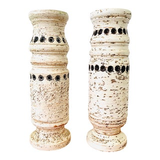 60s Bitossi Vases by Aldo Londi for Raymor - a Pair For Sale
