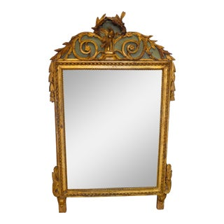 Mid 18th Century Antique Louis XV Wall Mirror For Sale