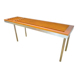 1960s Vintage Mid-Century Modern Console For Sale