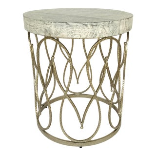 Studio a Home Modern Moroccan Side Table For Sale