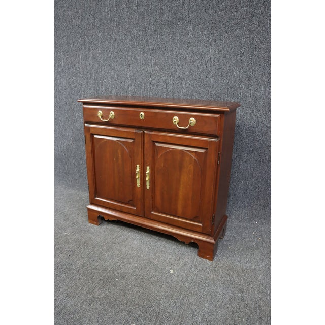Harden Chippendale Style Cherry Console Cabinet For Sale In Philadelphia - Image 6 of 8