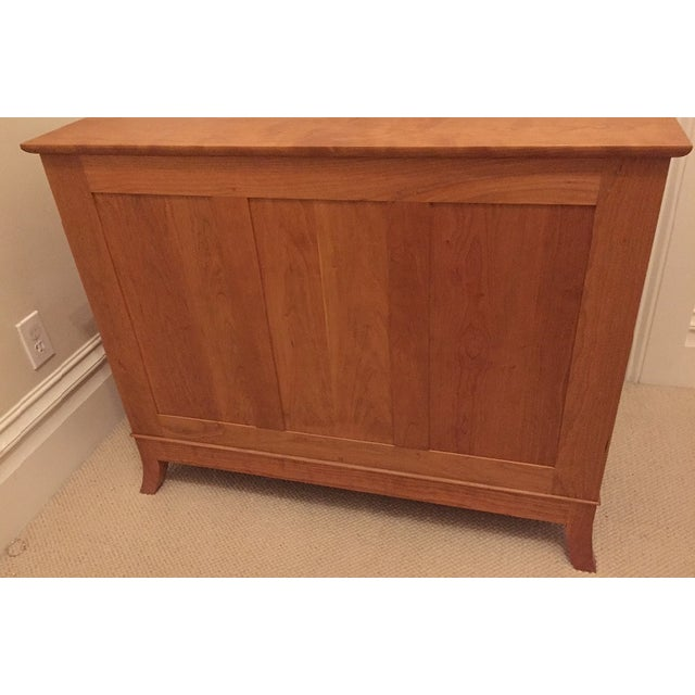 Thos. Moser Crescent Cherry Bureau - Image 6 of 6